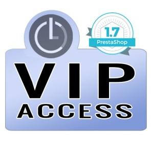 Módulo acceso privado para PrestaShop 1.7