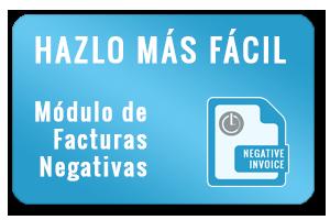 Modulo Prestashop Facturas Negativas