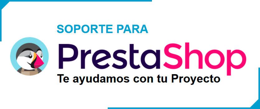 Soporte y mantenimiento para PrestaShop