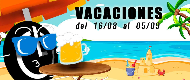 Vacaciones en Luis Cambra